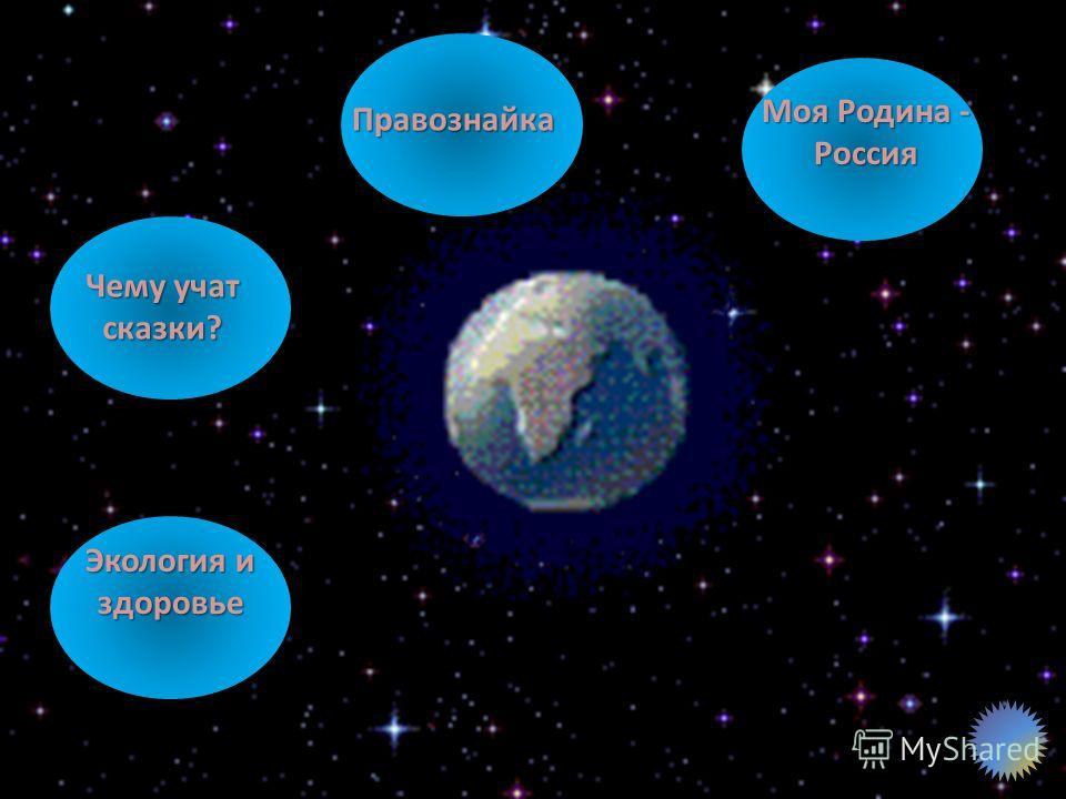 Правознайка Моя Родина - Россия Моя Родина - Россия Чему учат сказки? Чему учат сказки? Экология и здоровье Экология и здоровье