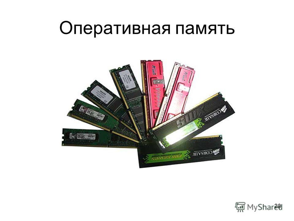 28 Оперативная память