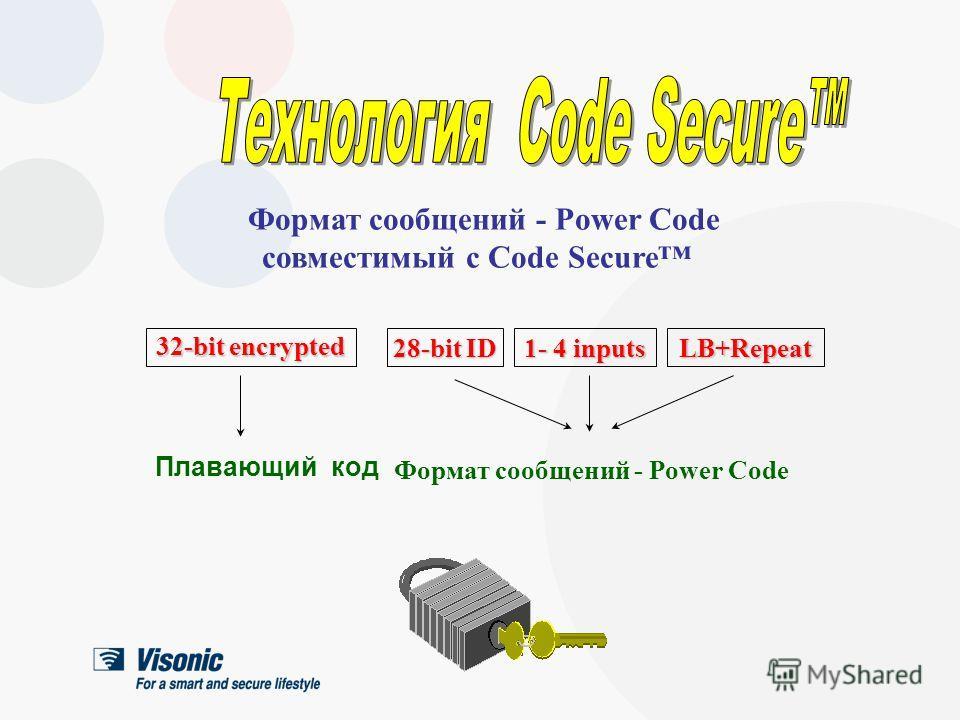 Плавающий код Код системы охраны не поддаётся клонированию