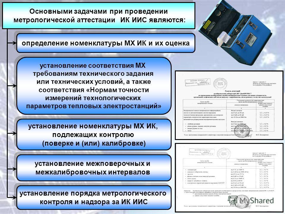 Основными задачами при проведении метрологической аттестации ИК ИИС являются: метрологической аттестации ИК ИИС являются: Основными задачами при проведении метрологической аттестации ИК ИИС являются: метрологической аттестации ИК ИИС являются: опреде