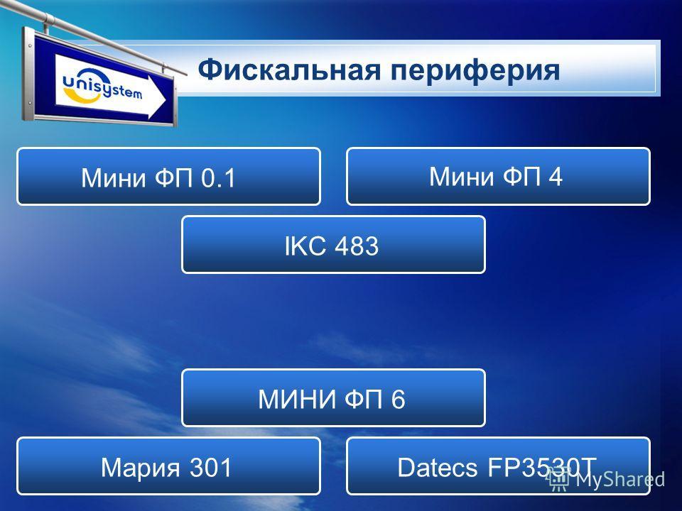 LOGO Фискальная периферия Мини ФП 0.1 Мини ФП 4 IKC 483 МИНИ ФП 6 Мария 301Datecs FP3530T