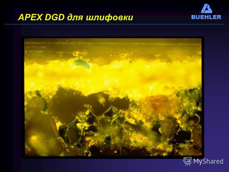BUEHLER APEX DGD для шлифовки