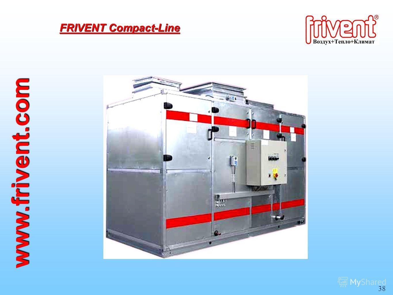 38 www.frivent.com FRIVENT Compact-Line