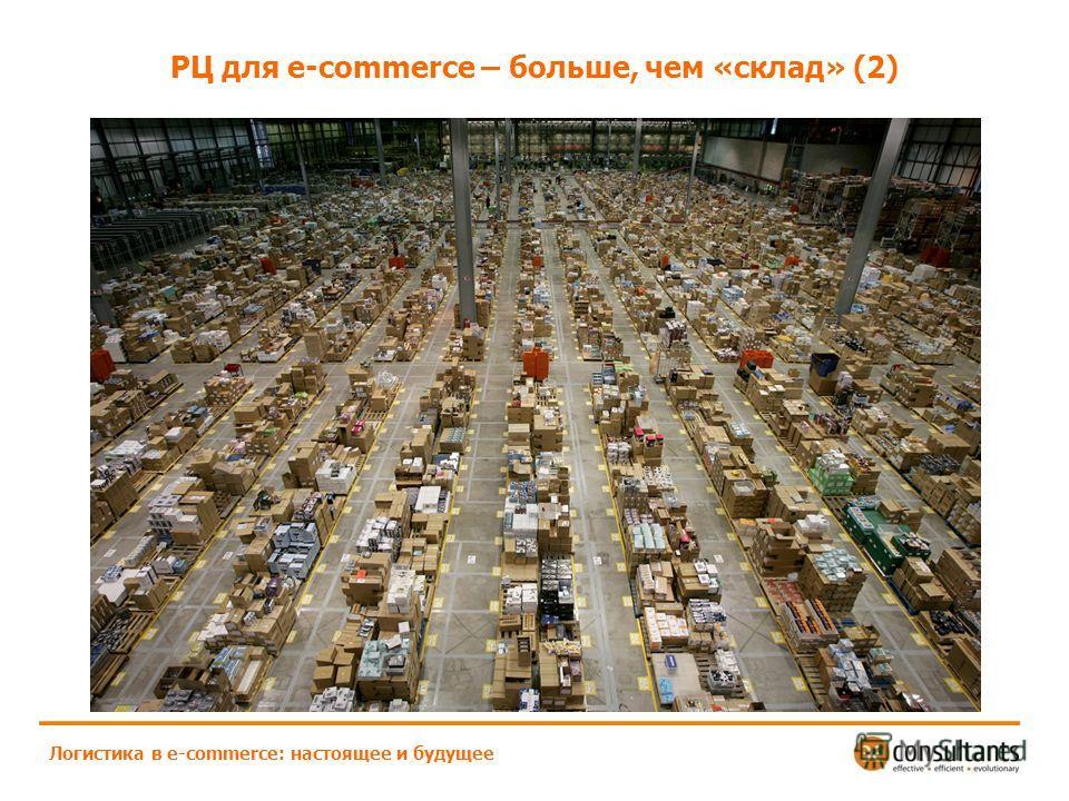 РЦ для e-commerce – больше, чем «склад» (2) Логистика в e-commerce: настоящее и будущее
