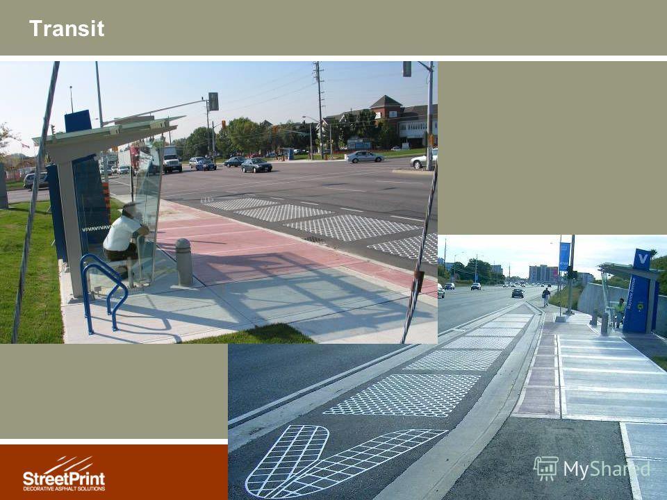 15 Transit Bus stops