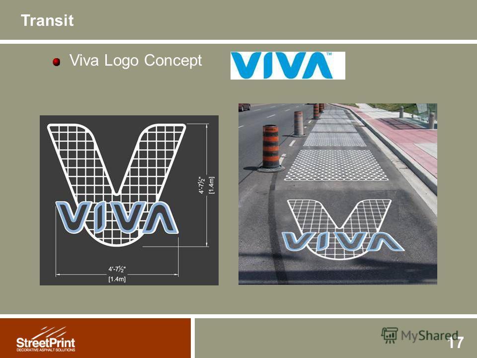 17 Viva Logo Concept Transit