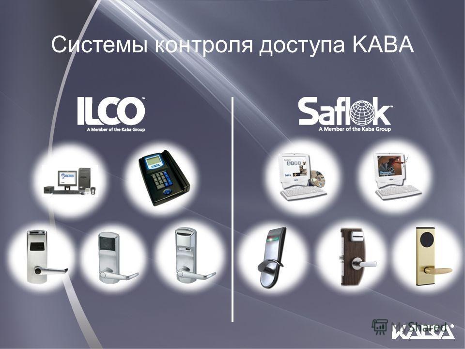Системы контроля доступа KABA