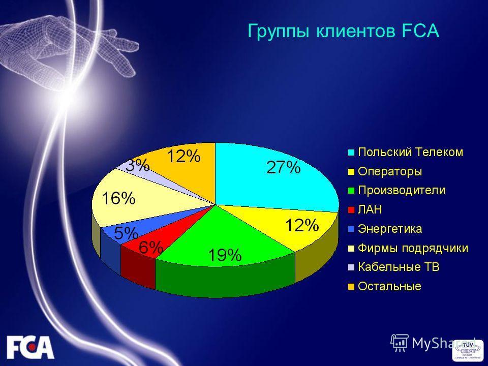 Группы клиентов FCA