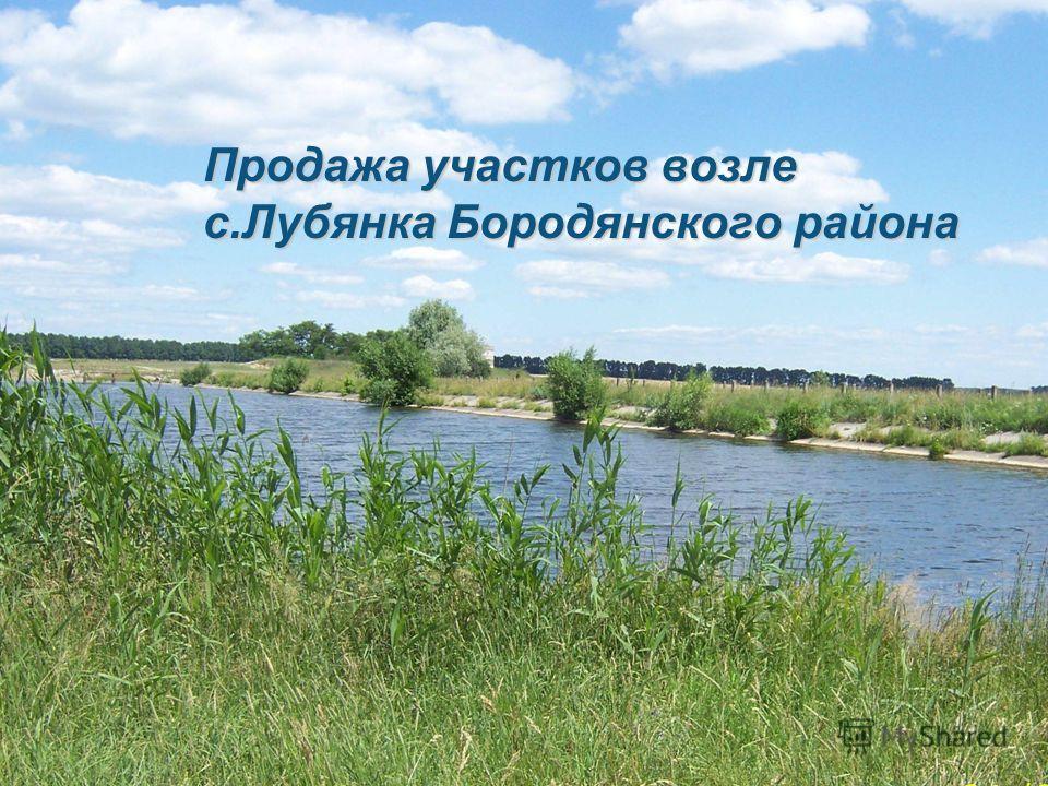 Продажа участков возле с.Лубянка Бородянского района