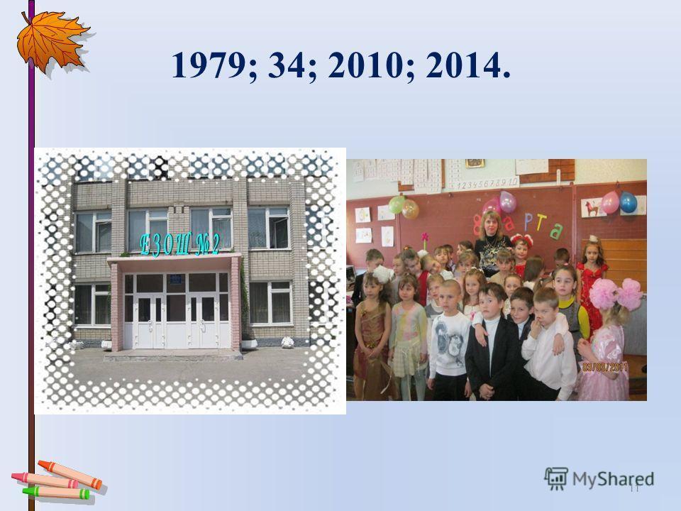 1979; 34; 2010; 2014. 11
