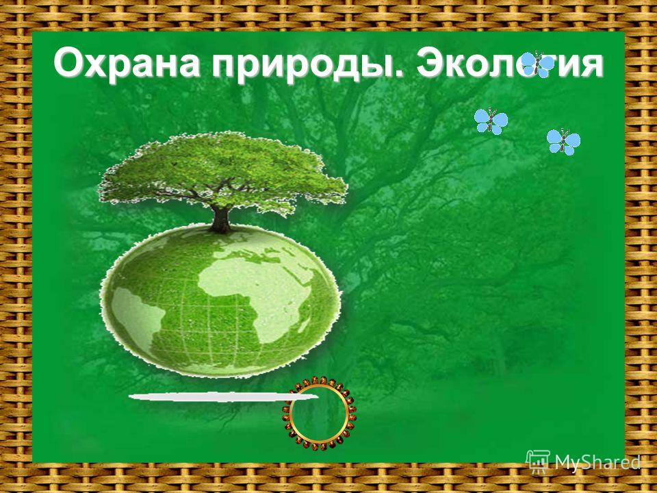 Охрана природы. Экология