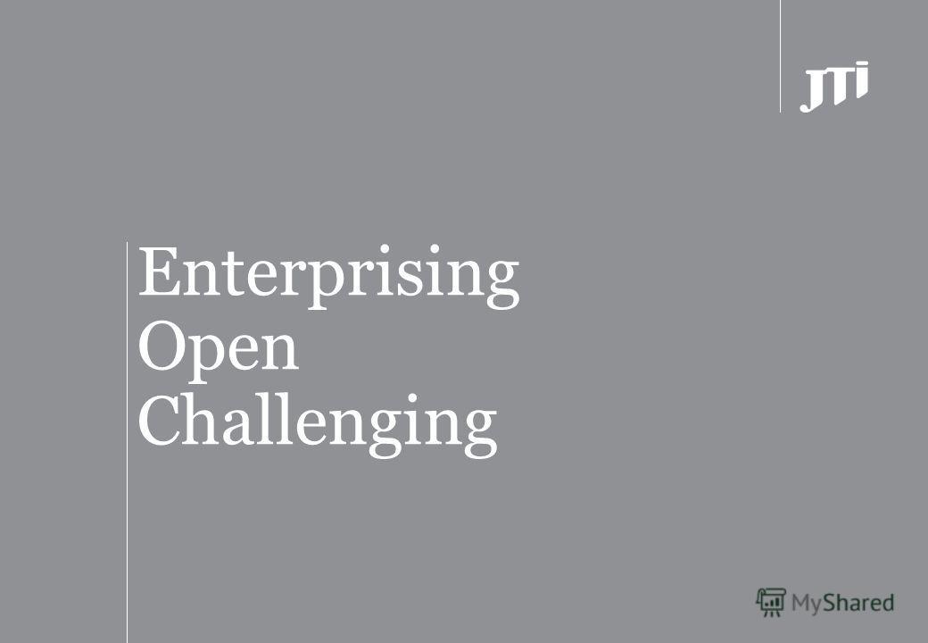 Enterprising Open Challenging