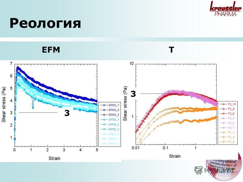 Реология EFM T 3 3