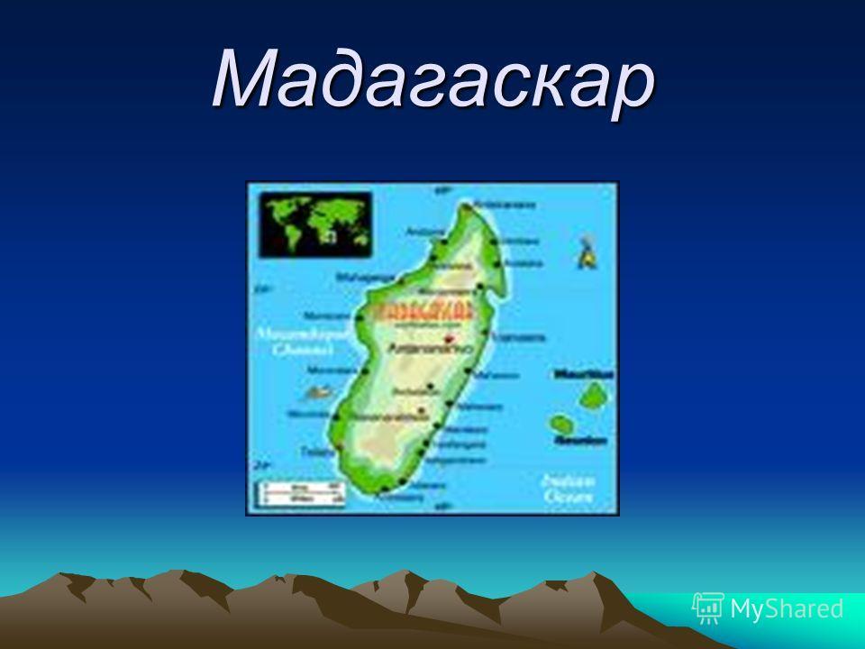 Презентацию на тему мадагаскар