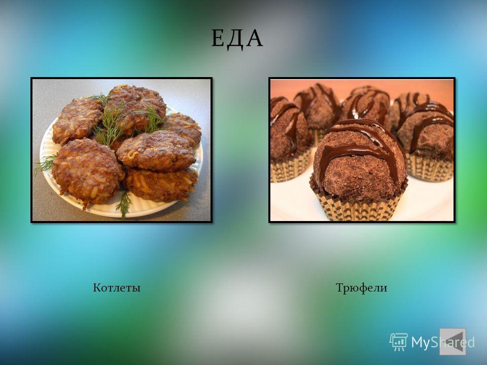 ЕДА КотлетыТрюфели