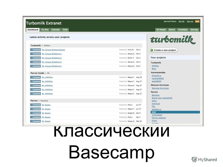 Классический Basecamp