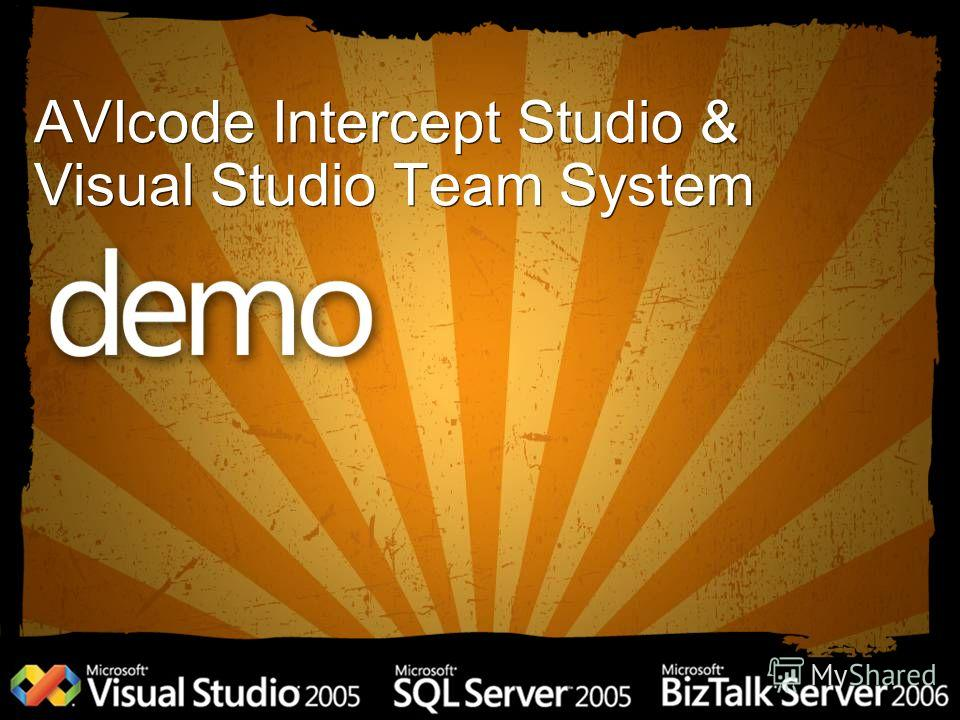 AVIcode Intercept Studio & Visual Studio Team System