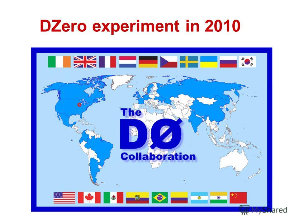 DZero experiment in 2010