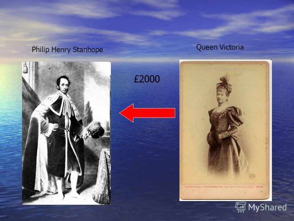 Philip Henry Stanhope Queen Victoria £2000