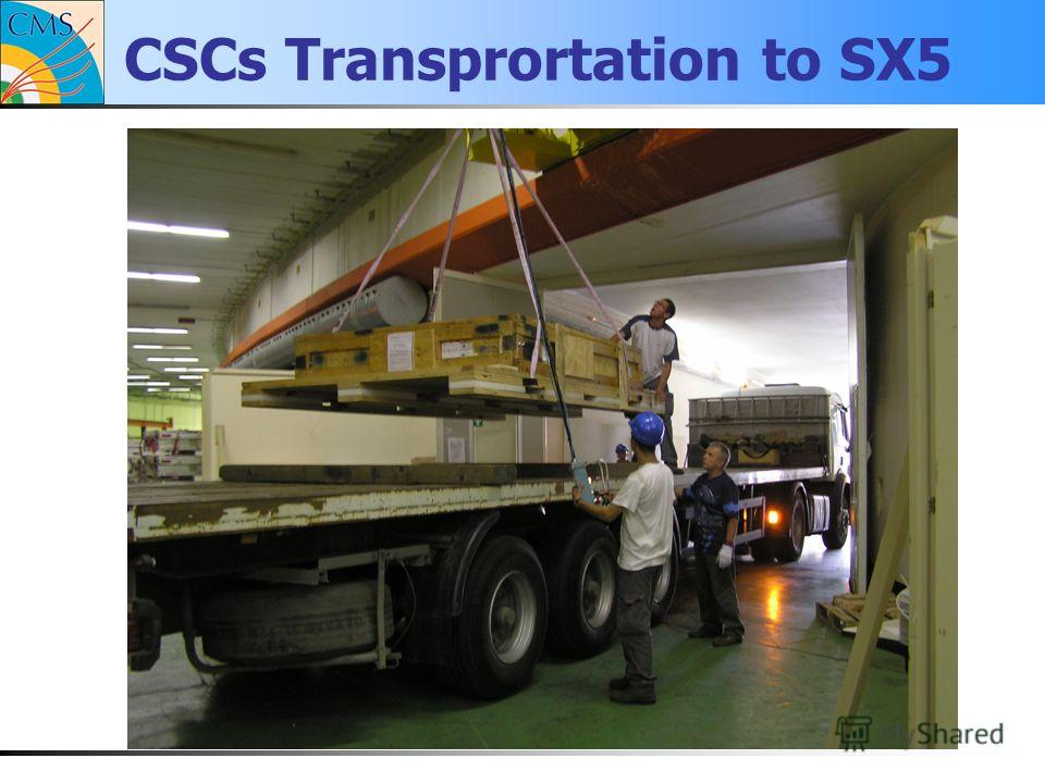 CSCs Transprortation to SX5
