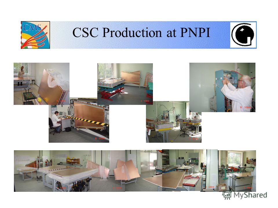CSC Production at PNPI