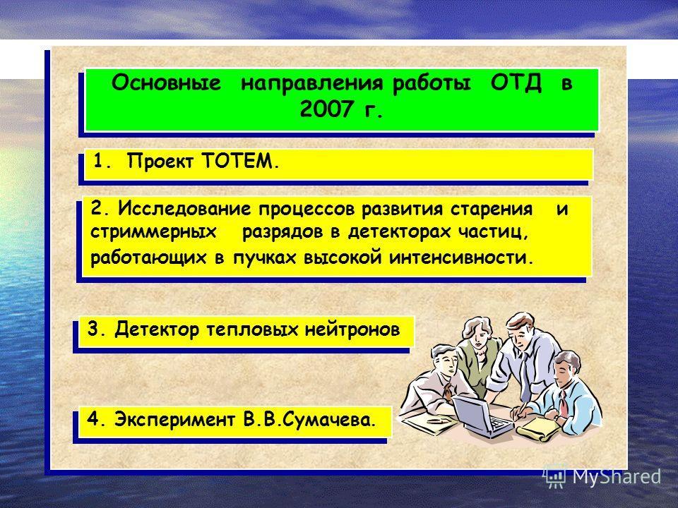 E. Robutti 1.Проект ТОТЕМ. 1.Проект ТОТЕМ. 2. Исследование процессов развития старения и стриммерныхразрядов в детекторах частиц, работающих в пучках высокой интенсивности. 2. Исследование процессов развития старения и стриммерныхразрядов в детектора