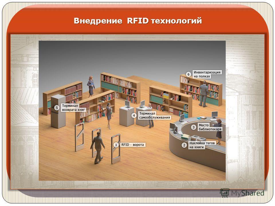 Внедрение RFID технологий