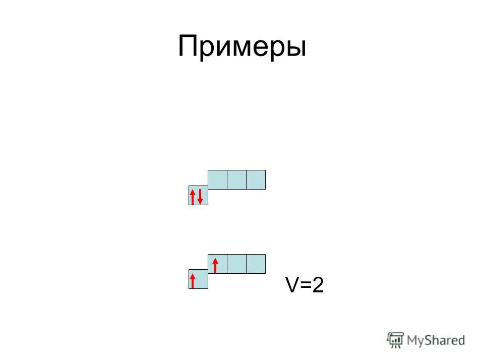 Примеры V=2