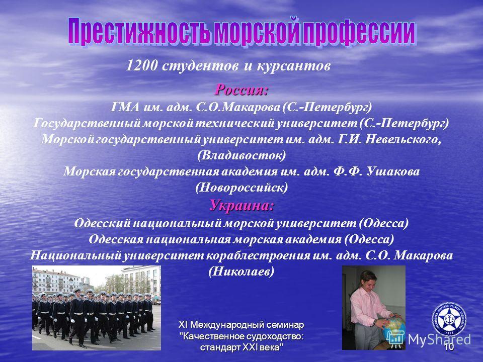 XI Международный семинар