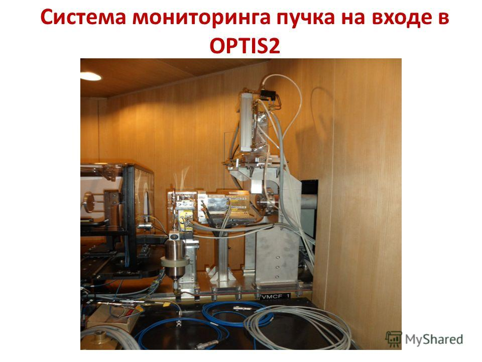 Система мониторинга пучка на входе в OPTIS2