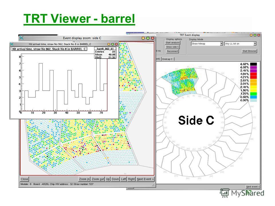 37 TRT Viewer - barrel