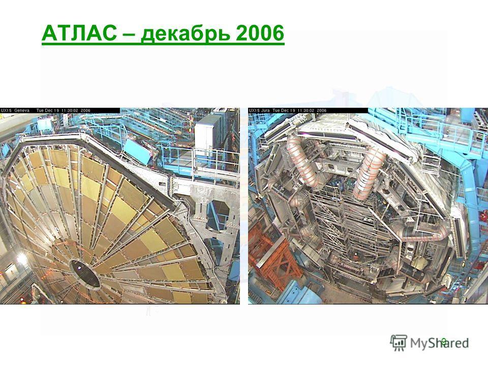 9 АТЛАС – декабрь 2006