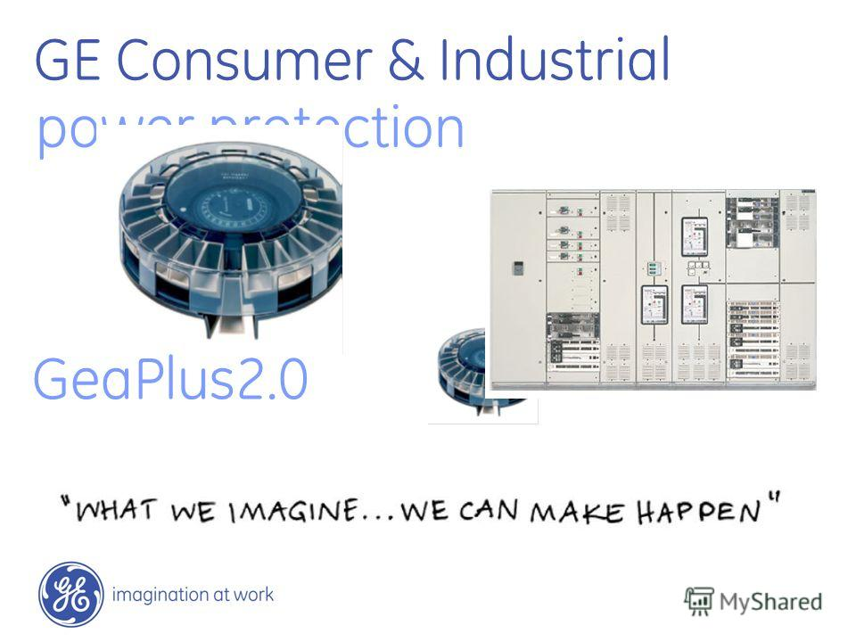 GE Consumer & Industrial power protection GeaPlus2.0