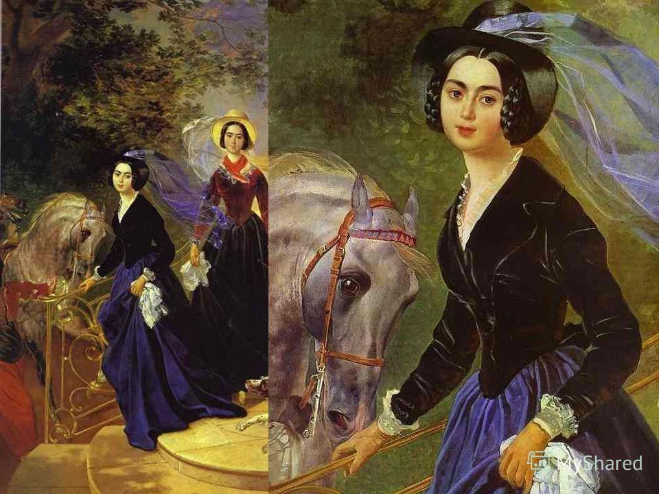 Портрет сестер Шишмаревых. 1839 Портрет сестер Шишмаревых. 1839