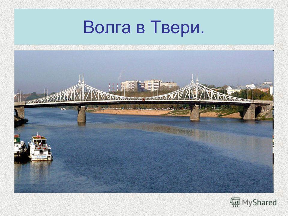 Волга в Твери.