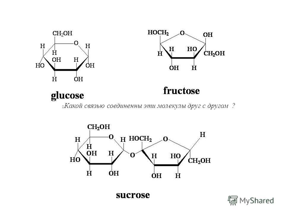 Какой связью соединенны эти молекулы друг с другом ?