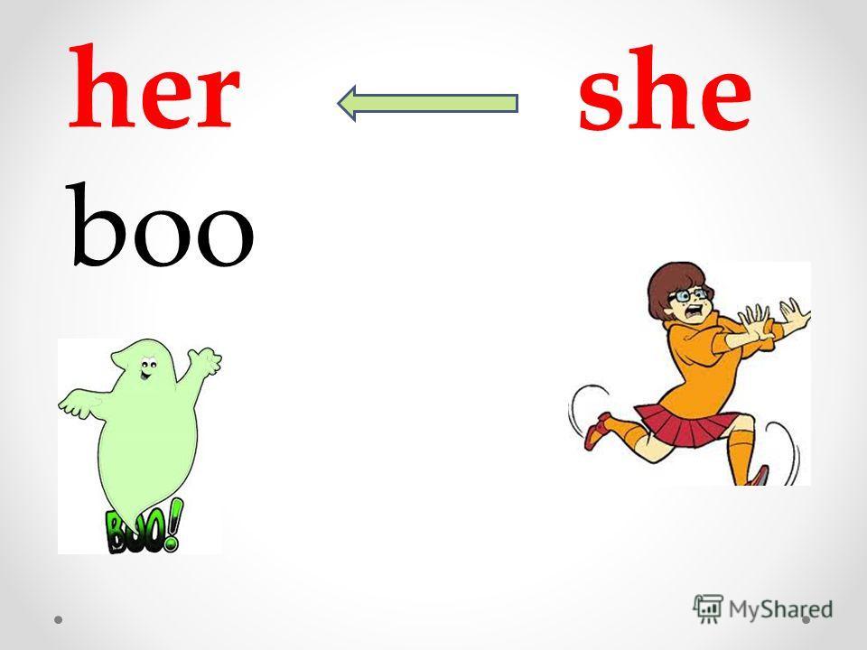 she her boo