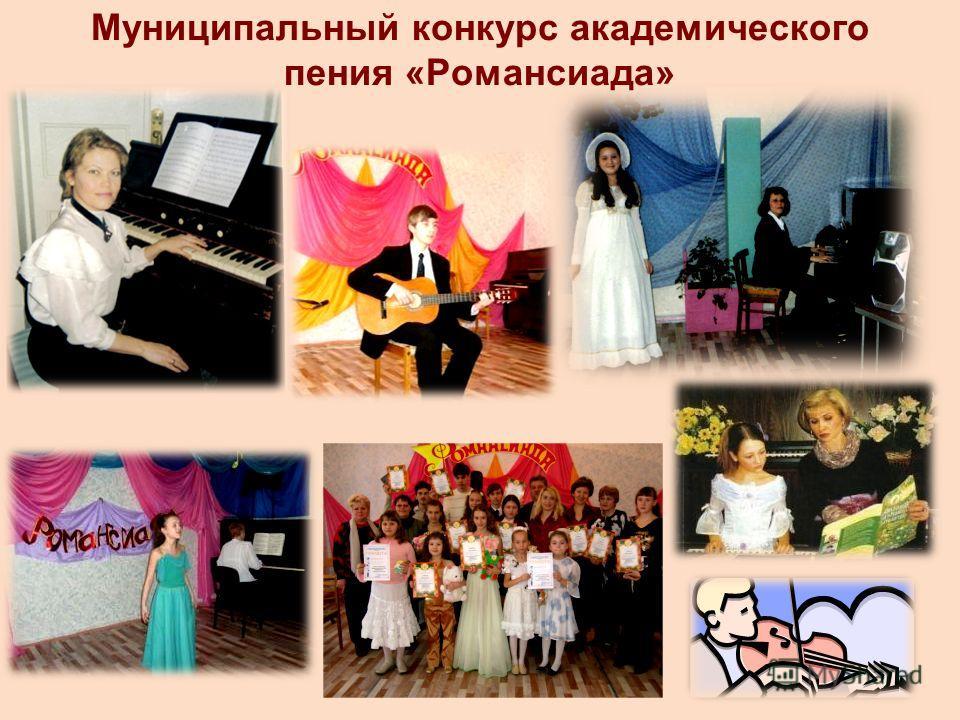 Муниципальный конкурс академического пения «Романсиада»