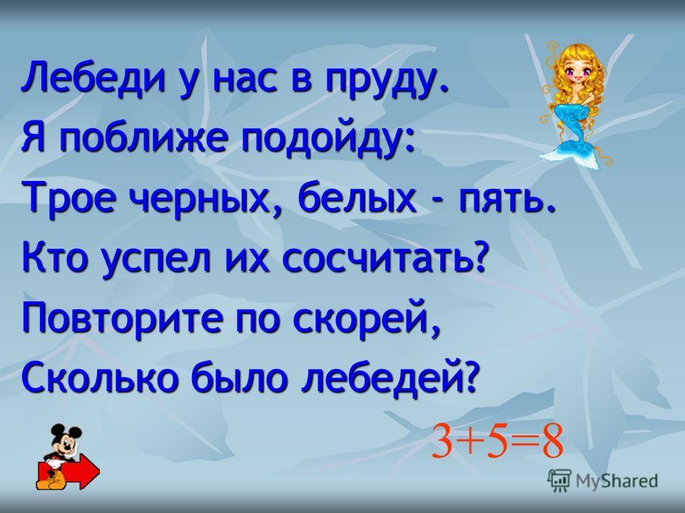 Устный счет 6+4= 5+5= 7+3= 4+6= 7-4= 9-5= 6-3= 10-5= 10 3 4 3 5