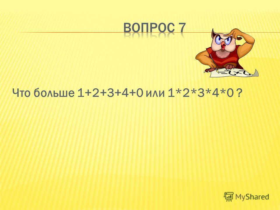 От прибавления какого числа данное число не изменится.