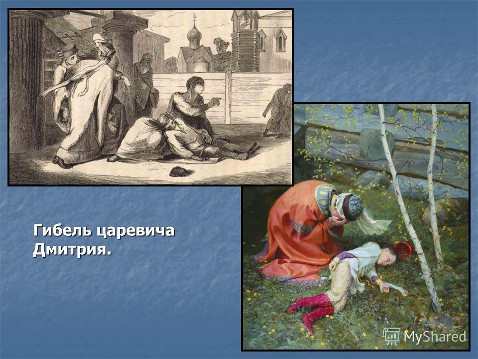 Гибель царевича Дмитрия.