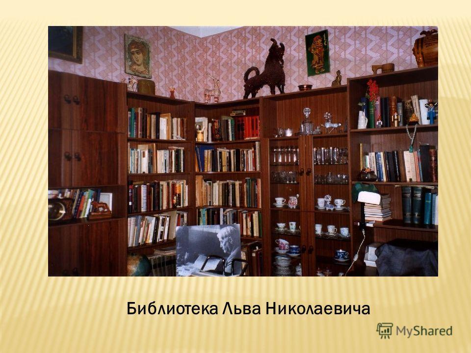 Библиотека Льва Николаевича