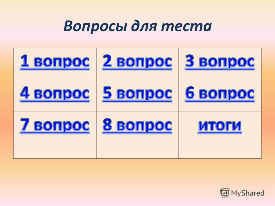 Состав слова Тест 2 класс