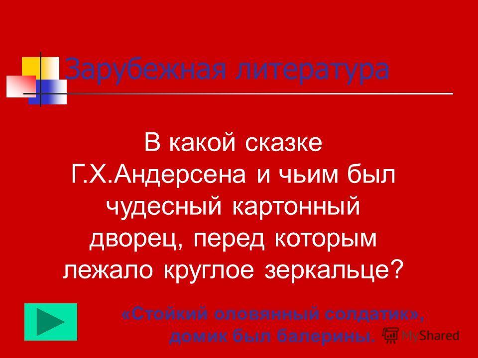 Темы финального раунда: Зарубежная литература Творчество Н. Носова Русский язык Общие вопросы
