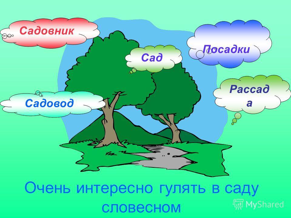 Очень интересно гулять в саду словесном Сад Рассад а Посадки Садовник Садовод