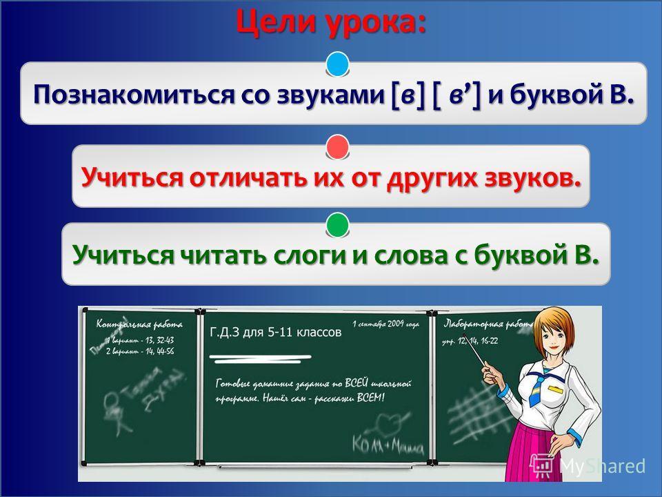 Тема урока: Звуки [в], [в], буква В. Строчная буква в. Строчная буква в.