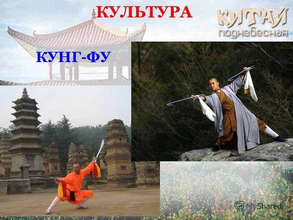 КУЛЬТУРА КУНГ-ФУ