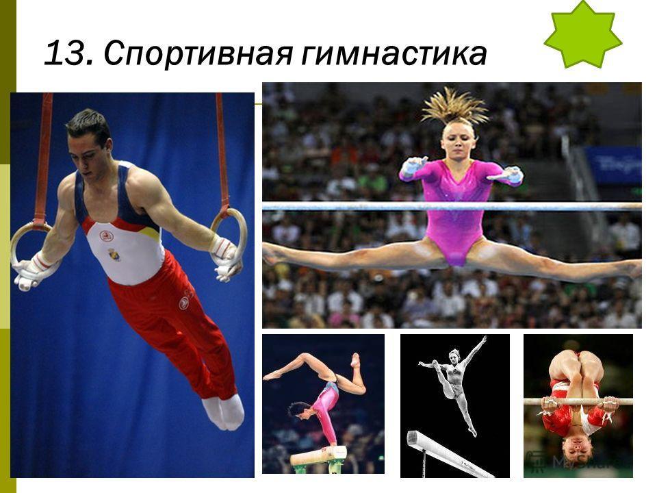 13. Спортивная гимнастика