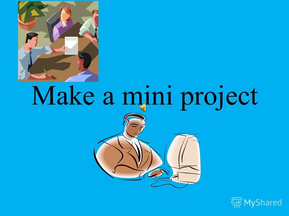 Make a mini project