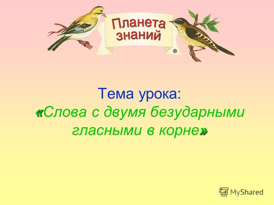 «Русский язык» 3 класс УМК «Планета знаний» Подготовила: учитель начальных классов Гафурова Альфия Салиховна